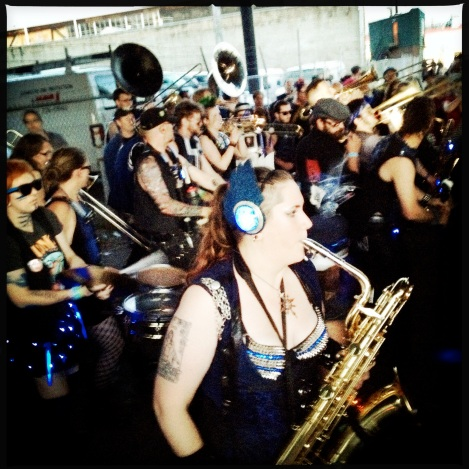 Chaotic Noise Marching Corps